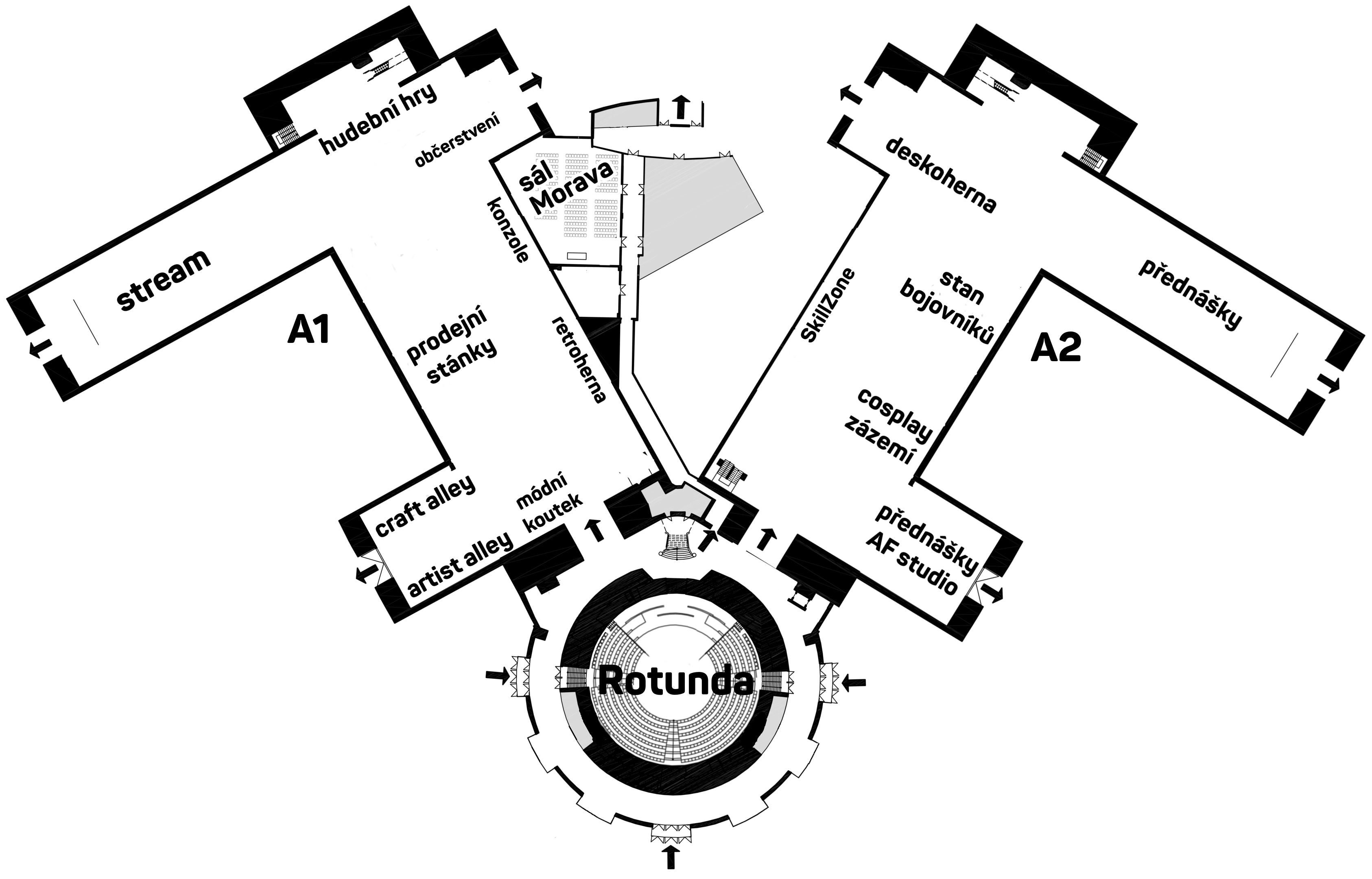 mapa AF18